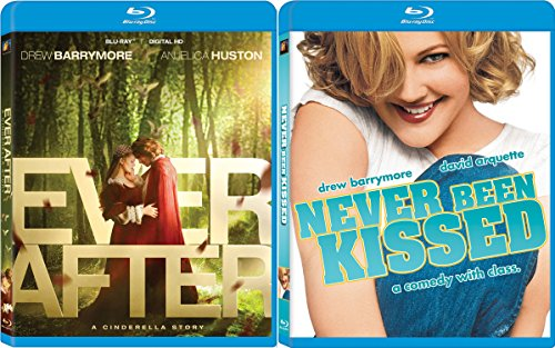 Never Been Kissed & Ever After (Blu-ray) Modern Fairy Tale Drew Barrymore set