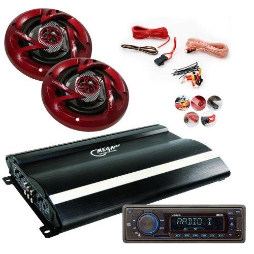 2400W CAR Set Radio Endstufe Lautsprecher CAR-103