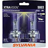 SYLVANIA 9003 (also fits H4) XtraVision Halogen Headlight Bulb, (Contains 2 Bulbs)