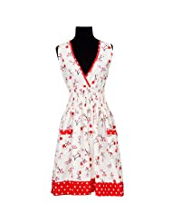 asd Living Loretta Apron with Cherry Soda Design by asd Living