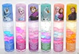 Disney Frozen Anna, Elsa & Olaf Kristoff Lip Gloss (Brillant a levres) 6pcs Set Fruity Flavors Princess