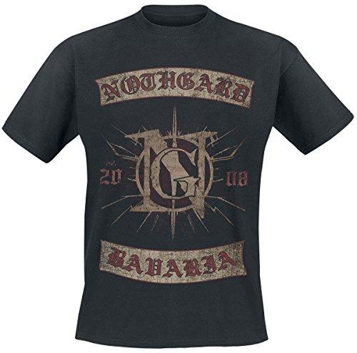 Nothgard Bavaria T-Shirt nero XXL