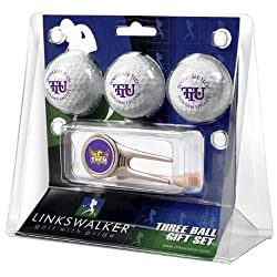 Tennessee Tech Golden Eagles NCAA 3 Ball Gift Pack w/ Cap Tool