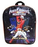 Power Rangers Final Strike Black and Red Children's Backpack