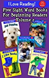 Sight Words (Set of 5 sight word beginning readers - Volume 2)