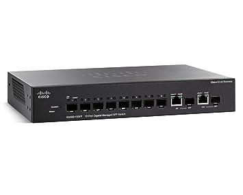 Cisco SG300-10SFP-K9-EU switch 10 ports