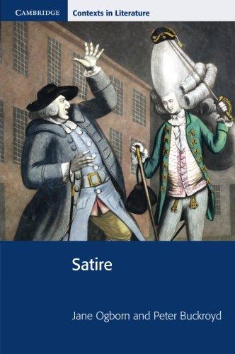 Satire (Cambridge Contexts in Literature)