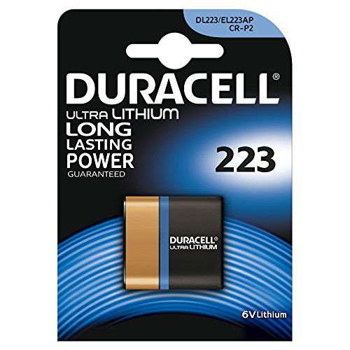 Duracell Specialty Type 223 Ultra Lithium Photo Camera Battery, Pack Of 1