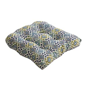 Pillow Perfect Mardin Chair Cushion, Spa from Pillow Perfect