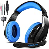 Gaming Headset For Ps4 Xbox360 Pc I Phone Smart Phone Laptop I Pad I Pod Mobilephones,Letton G5 Multi Function...