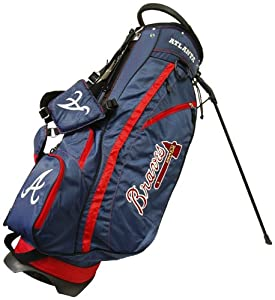 MLB Atlanta Braves Fairway Stand Golf Bag, Navy by Team Golf