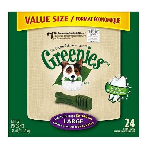 Greenies Dental Chews Value, Large 36 oz