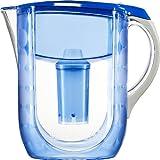 Brita Grand Water Filter Pitcher, Blue Bubbles, 10 Cup