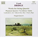 Works for String Quartet: Phantasie Quartet / Novelletten / 3 Idylls / An Irish melody / Sir Roger de Coverley / Sally in Our Alley / Cherry Ripe