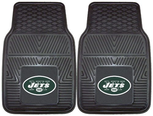 Nifty 8773 NFL-New York Jets Vinyl Universal Heavy Duty Fan Floor Mat