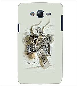 PrintDhaba Metal Design D-2265 Back Case Cover for SAMSUNG GALAXY J7 (Multi-Coloured)