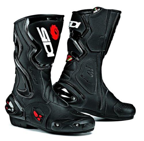 Sidi Cobra Bottes de moto Modèle sportif et de course Noir Taille 44