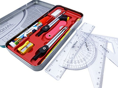 equal-best-performer-geometrie-werkzeug-set-kompass-lineale-radiergummi-protractor-mathe-set-school-