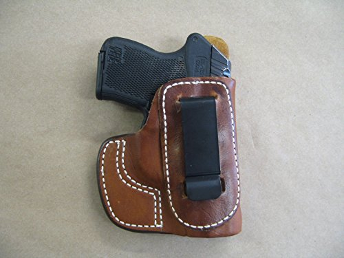 Taurus 738 TCP .380 IWB Waistband Molded Leather Concealed Carry Holster CCW TAN RH (Taurus Tcp 738 Clip compare prices)