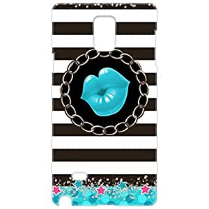 a AND b Designer Printed Mobile Back Cover / Back Case For Samsung Galaxy Note 4 (SG_N4_3D_3133)