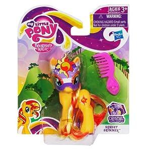 My Little Pony Crystal Princess Celebration: Sunset Shimmer With Mask