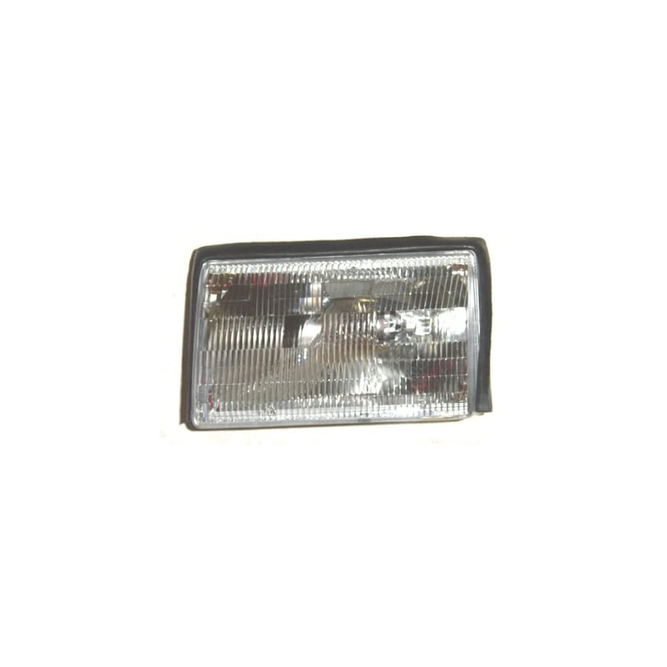 OE Replacement Ford Mustang Driver Side Headlight Assembly Composite (Partslink Number FO2502106)