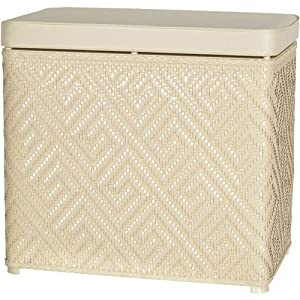 Athena Bench Hamper Color: Natural