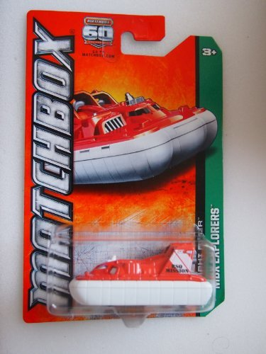 Matchbox MBX Explorers Amphi Flyer Orange/White #31 of 120 by Mattel - 1