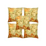 Rajrang Multi Color Cotton Digital Printed Cushion Cover Set Of 5 Pcs #Ccs05832