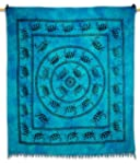 Turtle Tapestry Cotton Wall Hanging B...