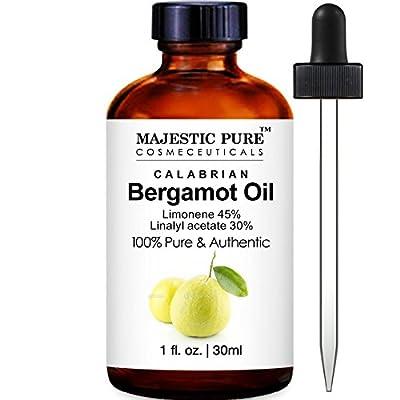 Majestic Bergamot Essential Oil, Premium Quality from Calabria, 1 Fluid Ounce