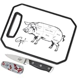 Guy Fieri Gourmet 3-Piece Image Board, Parer and Sheath Set (8-Inch by 11-Inch)