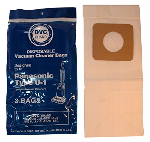 Panasonic Type U1 Vacuum Bags (Aftermarket) front-595226