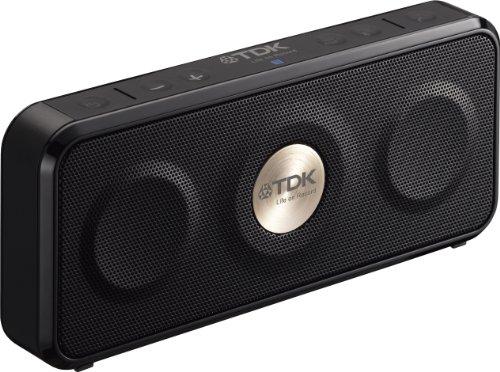 TDK LoR Bluetoothワイヤレスポータブルスピーカー 防塵・防滴(IP64相当) iPhone対応 ?NFC対応 TREKシリーズ ブラック A26BK