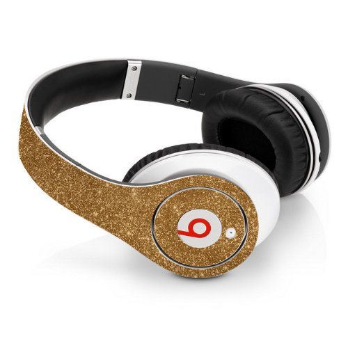Beats Studio Full Headphone Wrap In Sparkling Gold (Headphones Not Included)
