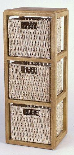 Holzregal-mit-3-Krben-aus-Maisgeflecht