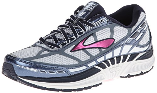 Brooks Women's Dyad 8 Running Shoes (8 B(M) US, Midnight/Storm/Fuchsia) (Brooks Running Shoes Women Size 8 compare prices)