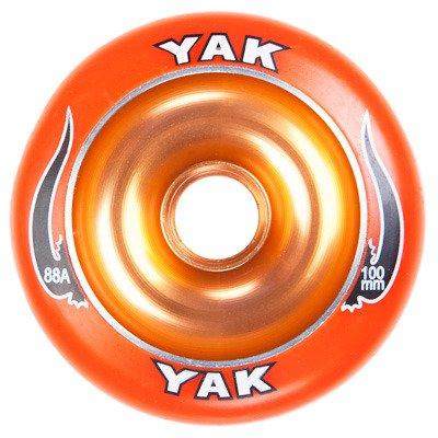 YAK Scat II Metal Core Wheel Orange 100mm