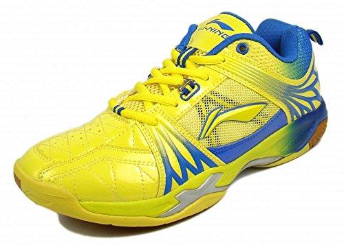 Li-Ning Titan Ltd Edition Badminton Shoes Yellow/Blue-7