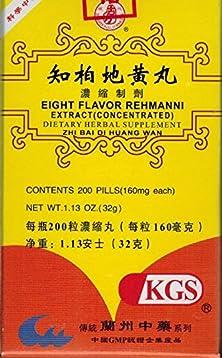 buy Eight Flavor Rehmanni Extract (Zhi Bai Di Huang Wan)