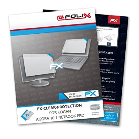 atFoliX FX-Clear Invisible screen protector for Kogan AGORA 10.1 Netbook Pro - Ultra clear screen protection! Highest Quality - Made in Germany!