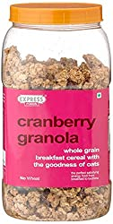 Express Foods Cranberry Granola Breakfast Cereal, 1kg