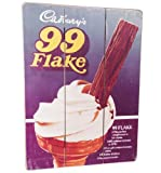 Cadbury's 99 Flake Wooden Sign