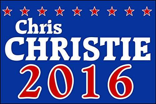 Chris Christie 2016 Sticker (Republican Gop Decal)