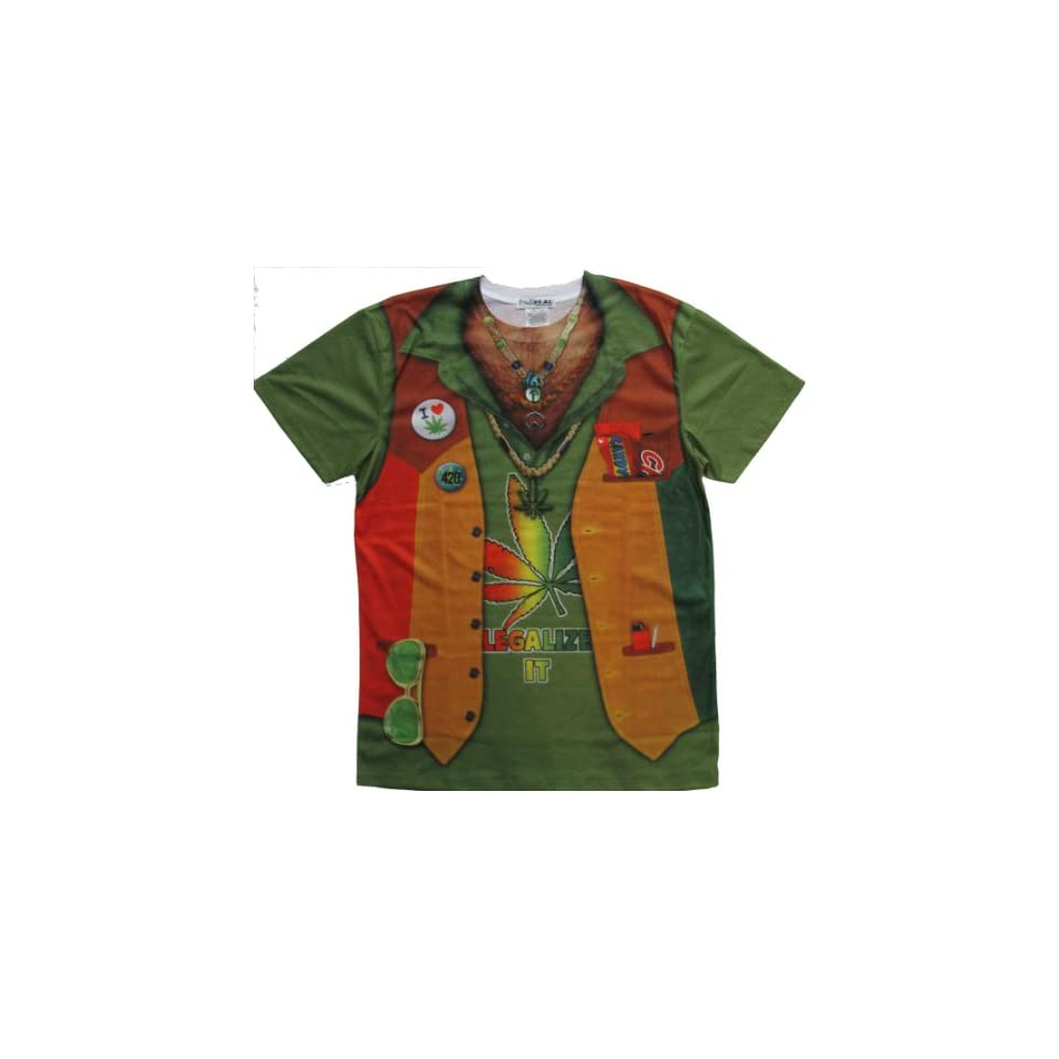 Stoner Costume Tee T Shirt Size S