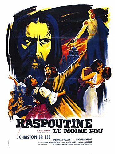 Reproduction of a poster presenting - Rasputin Mad Monk 03 - A3 Poster Print Buy Online (Old Rasputin compare prices)