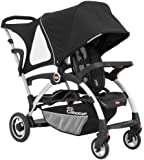 Joovy Ergo Caboose Double Stroller for Newborn (Black)