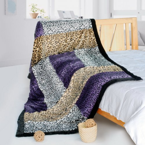 Onitiva - [Time Travel] Patchwork Throw Blanket (61 By 86.6 Inches)