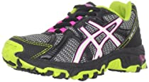 ASICS GEL-Scout GS Running Shoe (Little Kid/Big Kid),Lightning/White/Lime,6 M US Big Kid