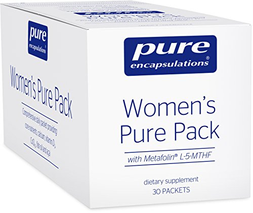 Pure Encapsulations - Women's Pure Pack - Hypoallergenic Multi-Vitamin/Mineral Complex with Omega-3 Fatty Acids, CoQ10, and Antioxidant Support* - 30 Packets (Red Palm Oil Capsules compare prices)